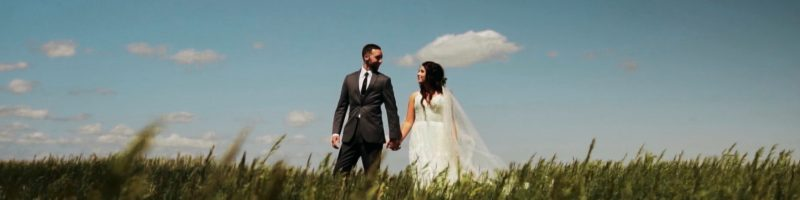Dain & Katlyn Beautiful Boho Outdoor Kansas Wedding